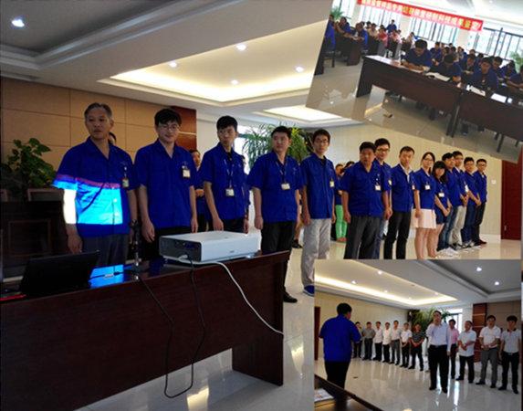 江苏海狮泵业制造有限公司--商务礼仪培训-培训动态